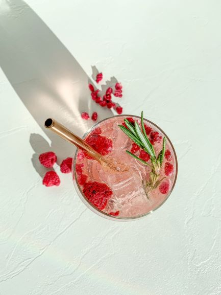 Signature Drink Berry Gin